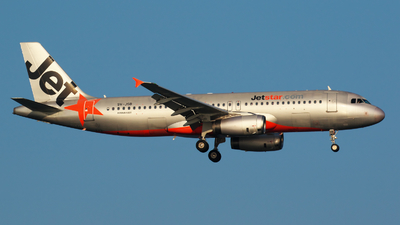 9V-JSB - Airbus A320-232 - Jetstar Asia Airways