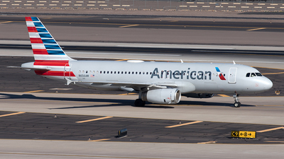 A picture of N656AW - Airbus A320232 - American Airlines - © Yixin Chen