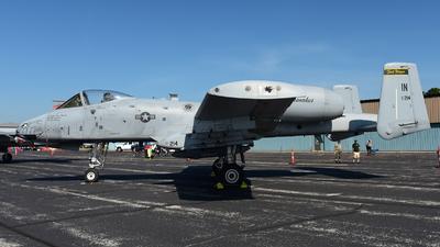 80-0214 - Fairchild A-10C Thunderbolt II - United States - US Air Force (USAF)