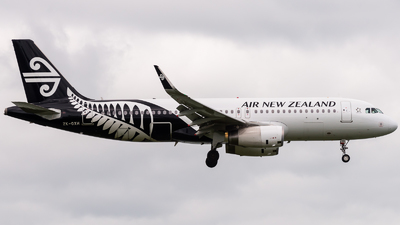ZK-OXH - Airbus A320-232 - Air New Zealand