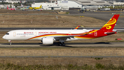 F-WZGR - Airbus A350-941 - Hong Kong Airlines