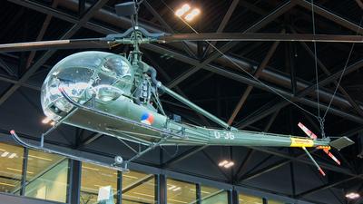 O-36 - Hiller OH-23C Raven - Netherlands - Royal Air Force