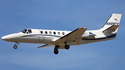 N999CX - Cessna 550B Citation Bravo - Private
