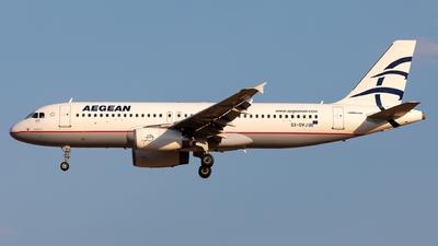 A picture of SXDVJ - Airbus A320232 - Aegean Airlines - © Sebastian Sowa