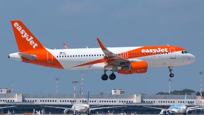 OE-ICD - Airbus A320-214 - easyJet Europe