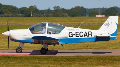 G-ECAR - Robin HR200/120B - Bulldog Aviation