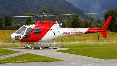 ZK-HNQ - Aérospatiale AS 350BA Ecureuil - Glacier Helicopter