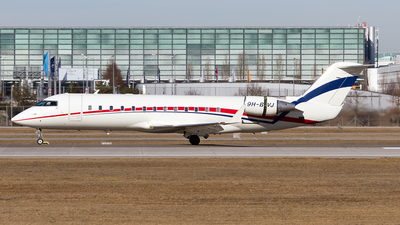 9H-BVJ - Bombardier CL-600-2B19 Challenger 850 - Blue Square Aviation