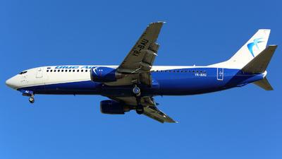 YR-BAU - Boeing 737-4Y0 - Blue Air