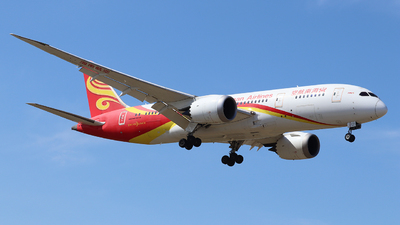 A picture of B2723 - Boeing 7878 Dreamliner - Hainan Airlines - © QingChen1204