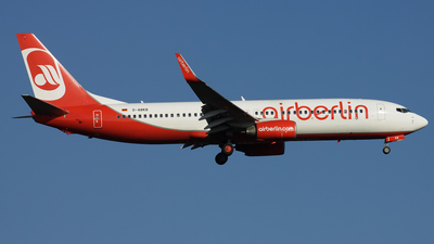 D-ABKB - Boeing 737-86J - Air Berlin