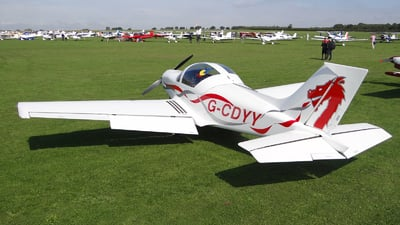 G-CDYY - Alpi Pioneer 300 - Private