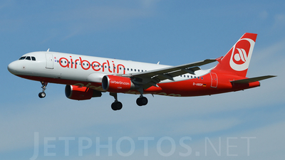 D-ABDP - Airbus A320-214 - Air Berlin