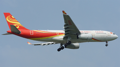 A picture of B5963 - Airbus A330243 - Hainan Airlines - © YOUNG LI