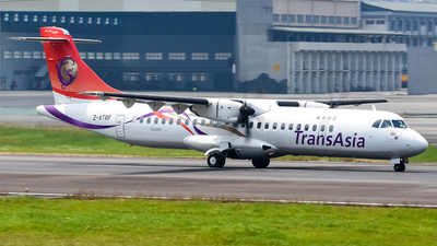 2-ATRF - ATR 72-212A(600) - TransAsia Airways