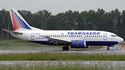 EI-DTV - Boeing 737-5Y0 - Transaero Airlines