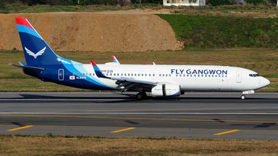 A picture of HL8376 - Boeing 7378JP - Fly Gangwon - © Rex Tsai