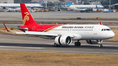 A picture of B321P - Airbus A320271N - Shenzhen Airlines - © Ayase Yukari