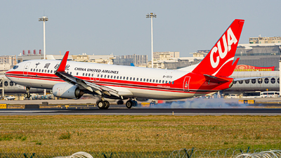 A picture of B1573 - Boeing 73789P - China United Airlines - © Austin_SA