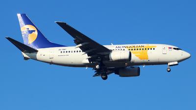 JU-1087 - Boeing 737-71M - MIAT Mongolian Airlines