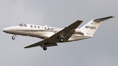 N242KV - Cessna 525B CitationJet 3 - Private