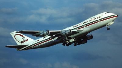 CN-RME - Boeing 747-2B6B(M) - Royal Air Maroc (RAM)