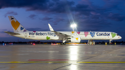 A picture of DABON - Boeing 757330 - Condor - © Chris de Breun
