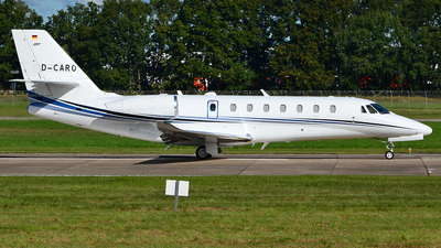 D-CARO - Cessna Citation 680 Sovereign Plus - Aerowest Flugcharter