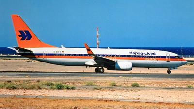 D-AHFR - Boeing 737-8K5 - Hapag-Lloyd