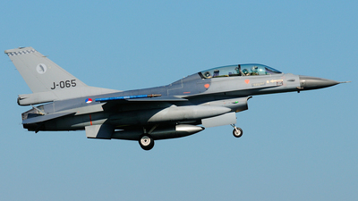 J-065 - General Dynamics F-16BM Fighting Falcon - Netherlands - Royal Air Force