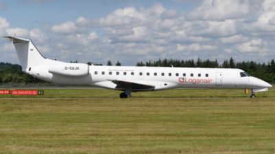 A picture of GSAJH - Embraer ERJ145EU - Loganair - © Ian McGregor