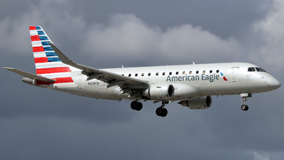 A picture of N418YX - Embraer E175LR - American Airlines - © Xiamen Air 849 Heavy