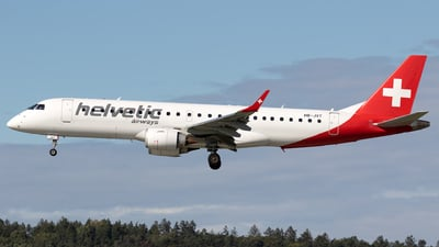 HB-JVT - Embraer 190-100IGW - Helvetic Airways
