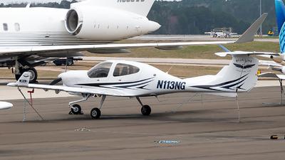 N113NG - Diamond DA-40NG Diamond Star - Blue Line Aviation