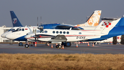 D-ICKE - Beechcraft B200GT Super King Air - Private