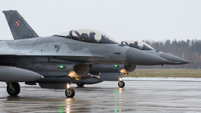 4074 - Lockheed Martin F-16C Fighting Falcon - Poland - Air Force
