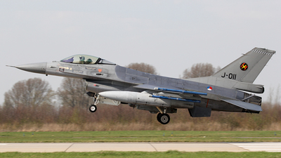 J-011 - General Dynamics F-16AM Fighting Falcon - Netherlands - Royal Air Force