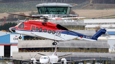A picture of GWNST - Sikorsky S92A Helibus - CHC Helikopter Service - © Rrimestad