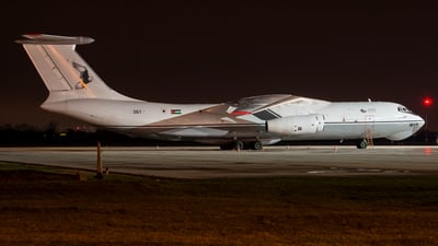 361 - Ilyushin IL-76MF - Jordan - Air Force