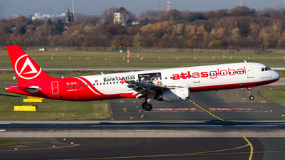 A picture of TCETN - Airbus A321131 - AtlasGlobal - © Sotos