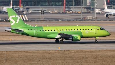 A picture of VQBYV - Embraer E170SU - S7 Airlines - © Liu Yonggang