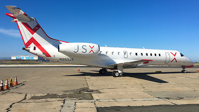 A picture of N263JX - Embraer ERJ135LR - JSX - © Jamie West