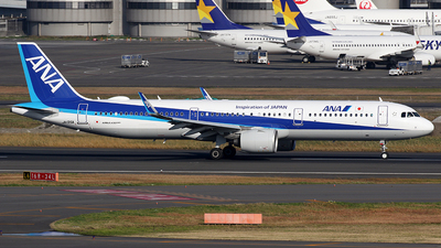 JA135A - Airbus A321-272N - All Nippon Airways (ANA)
