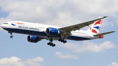 G-VIIN - Boeing 777-236(ER) - British Airways
