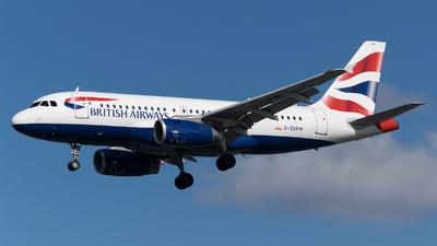 G-EUPM - Airbus A319-131 - British Airways
