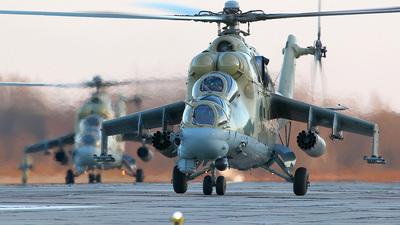 RF-93543 - Mil Mi-24 Hind - Russia - Air Force