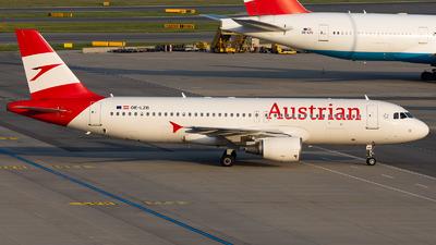 OE-LZB - Airbus A320-214 - Austrian Airlines
