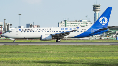 A picture of B1558 - Boeing 73785C - Jiangxi Air - © iceland2000