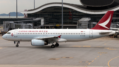 B-HSN - Airbus A320-232 - Cathay Dragon