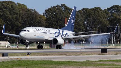 A picture of LVBZA - Boeing 73776N - Aerolineas Argentinas - © Gabriel Gomez